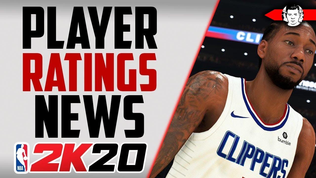 *NEW* NBA 2K20 Player Ratings Screenshots! NBA 2K20 News