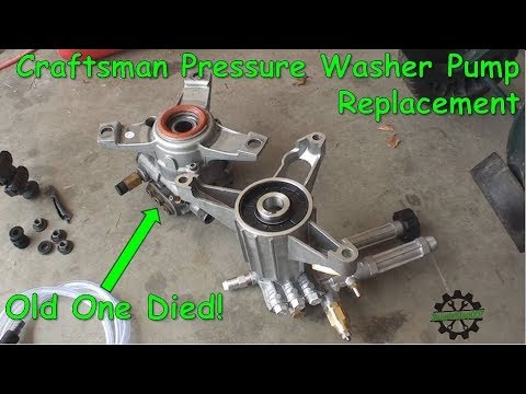 Pressure Washer - motor runs / pump doesn't - How to fi ...