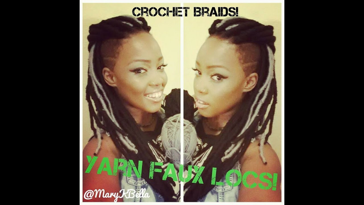 Faux Locs Crochet Braids Demo Youtube