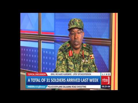 Brig. Richard Karemire on UPDF Withdraw From Central Africa Republic (CAR)