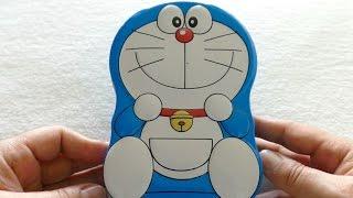 Cute Doraemon Money Saver Box with Chocolate - ドラえもん