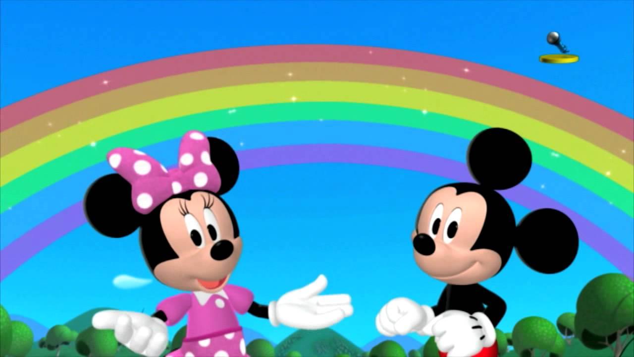 Disney Junior Espana Canta Con Dj La Cancion Del Arco Iris Youtube