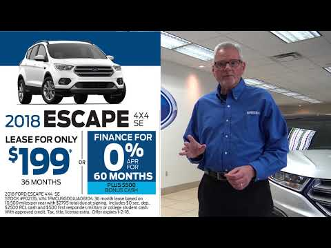 Smail Ford Lease and Finance Special Offers (November 2017)
