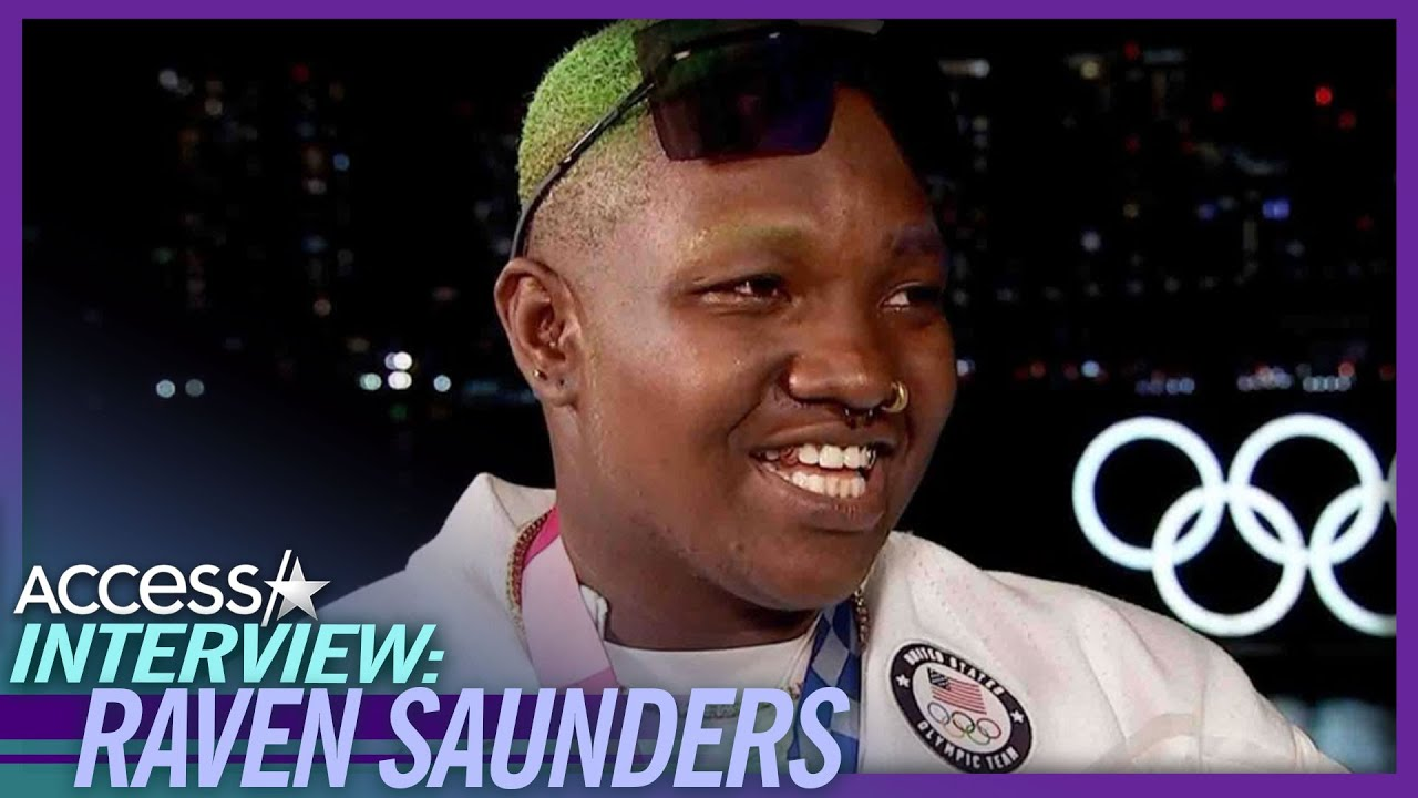Raven Saunders On X Protest At Olympic Ceremony