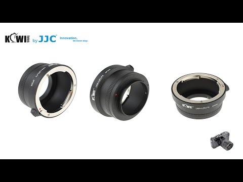 Kiwifotos Adapter für Leica R Objektiv an Fujifilm X-Mount Kamera
