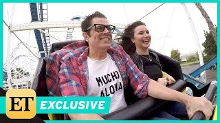 Watch Johnny Knoxville and Chris Pontius Attempt Interview on a Roller Coaster (Exclusive)