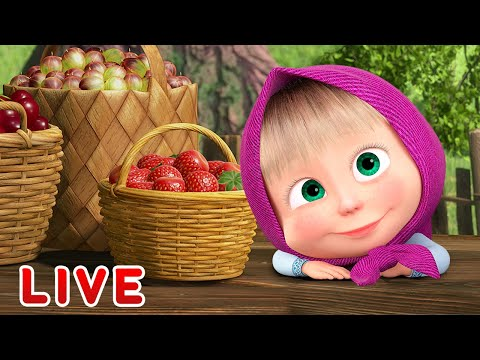 🔴 LIVE STREAM 🎬 Masha and the Bear 👶 Happy thanksgiving! 👨‍👩‍👧‍👧🦃