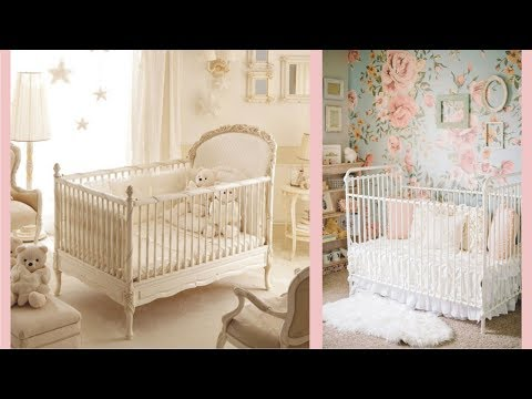 wondrous-antique-white-baby-crib-design