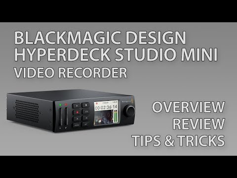 Blackmagic Design HyperDeck Studio Mini - Review, Overview, Tips, And Tricks (2019 Update)