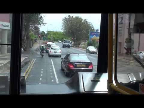 Bus Service in Mauritius-Travelling from Port Louis to Quatre Bornes 5