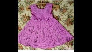 Crochet Patterns| for free |crochet baby dress| 2525