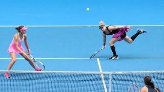 Safarova / Mattek Sands vs Zheng / Chan Highlights HD Australian Open 2015