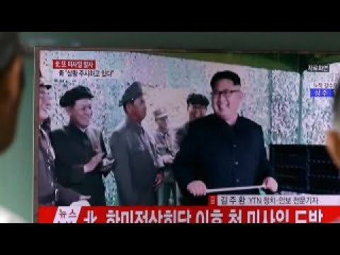 North Korea tests ICBM