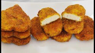 طرز تهیه بهترین ناگت مرغ خانگی | Best Chicken Nuggets Recipe - Eng Subs