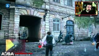 AngryJoe Plays: Assassin's Creed Unity Part 2