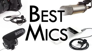 Best Microphones for Video ($0-$500)