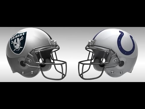 Oakland Raiders a Indianapolist Colts  2001 Part 2 of 2