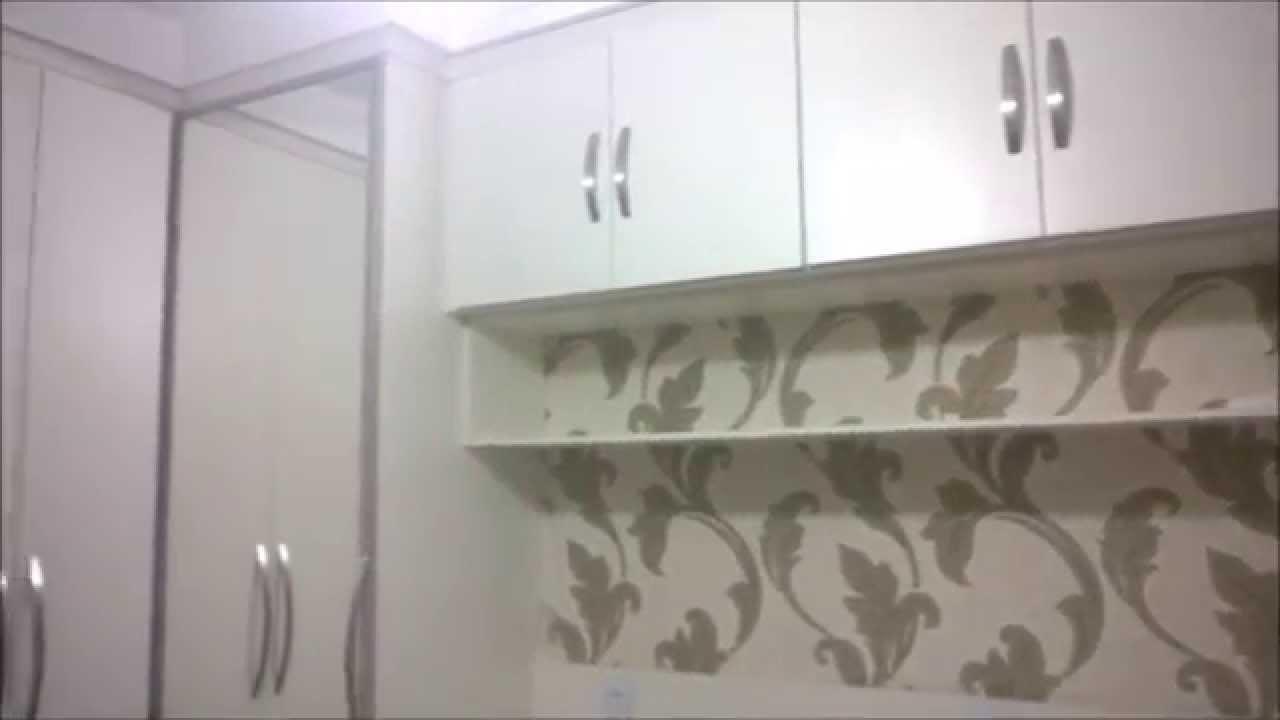 Artesanato Suely Alvaro Ramos ~ Armário de quarto em L YouTube