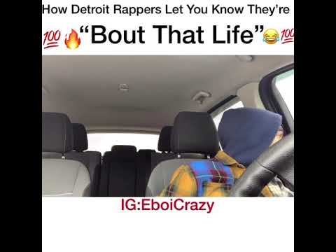 "How Detroit Rappers Let You Know They're ""Bout That Life"""