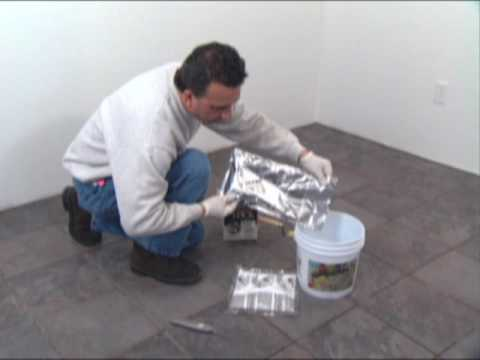 SPECTRALOCK®* PRO Grout (Part 1 - Mixing)