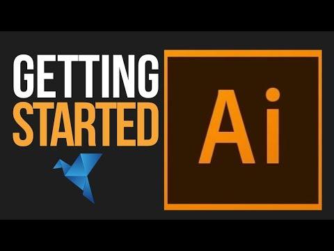 Adobe Illustrator CC 2019 for Beginners | Getting Started Tutorial | Episode 1
