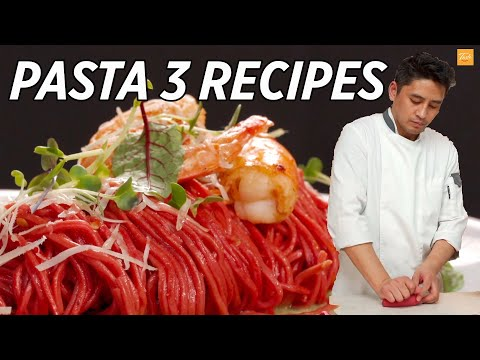 How To Make Tasty Pasta | Healthy Pasta 3 Recipes • Taste Show