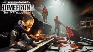 "Прохождение Homefront: The Revolution - DLC Voice of Freedom ""Как Уокер Бреди спасал"""