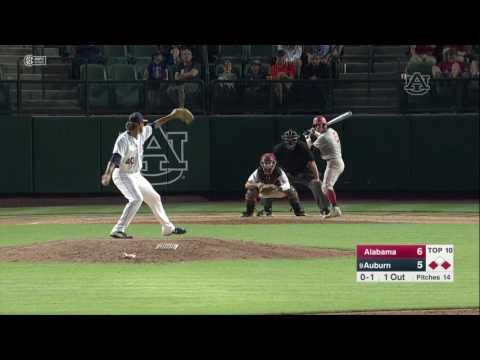 Auburn baseball vs Alabama game 3 highlights