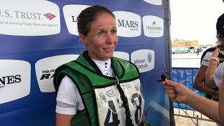 Team Ireland's Sarah Ennis at FEI World Equestrian Games Tryon 2018