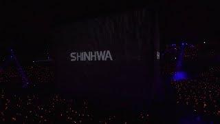 SHINHWA TWENTY FANPARTY 'Intro + T.O.P.' STAGE CLIP 신화 20주년 팬...