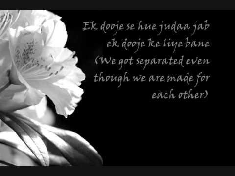 Teri Meri With lyrics & english translations