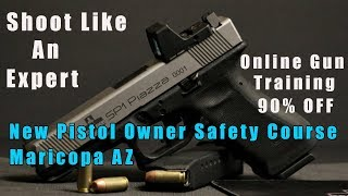 New Pistol Owner Safety Course-New Pistol Owner Safety Class-O…
