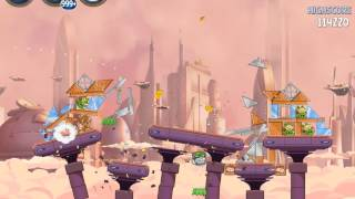 Angry Birds Star Wars 2 Rise of the Clones B4-S1 3 Star Walkthrough