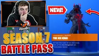 *NEW* SEASON 7 TIER 100 SKIN! - SEASON 7 BATTLE PASS (FORTNITE BATTLE ROYALE)