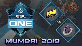 Navi vs Keen Gaming / Bo3 / Playoffs /  ESL One Mumbai 2019 / Dota 2 Live