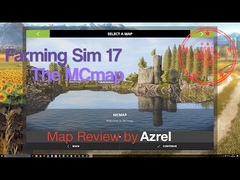 Farming Simulator 17 - The MCmap - Mod Contest Special Map Walkthrough
