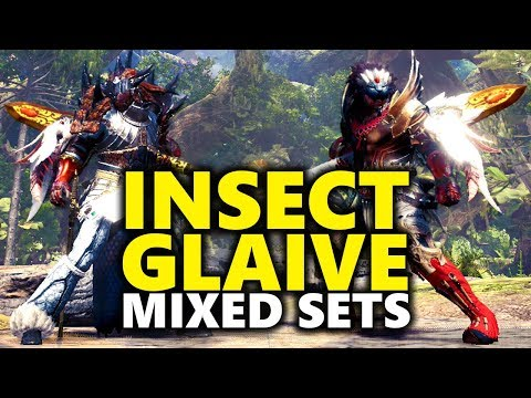 INSECT GLAIVE BUILDS - Normal & Hidden Glaives - Monster Hunter World