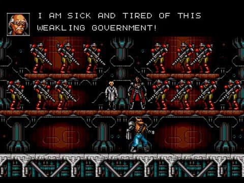 [HD] Contra - Hard Corps: FULL STORY hack (Sega Genesis)
