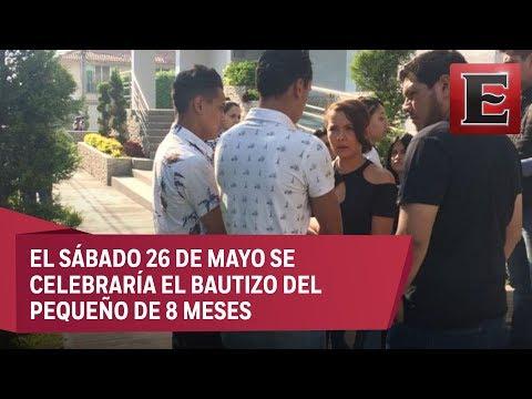 Despiden En Guadalajara Al Bebé Tadeo, Víctima De Narcobloqueos En Jalisco