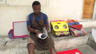 HANDMADE AFRICAN WAX PRINT BAGS, SHOES & MORE Thumbnail