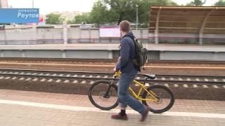 видео в метро с велосипедом можно