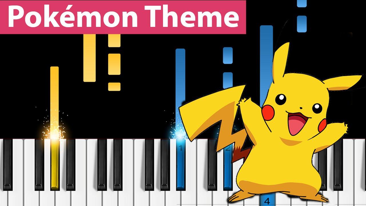 Pokémon Theme - Piano Tutorial