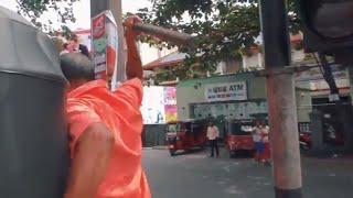 Kandy Tuk Tuk Driver Attack
