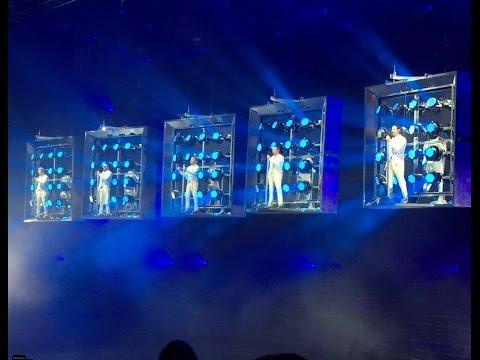 Backstreet Boys LAS VEGAS 2017 - OPENING LARGER THAN LIFE