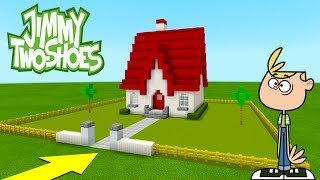 """Minecraft: How To Make Jimmy Two-Shoes House """"Jimmy Two-Shoes"""""""