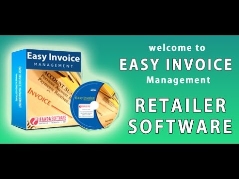 EASY INVOICE SOFTWARE RETAILER YouTube - Easy invoice software