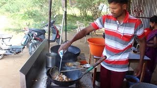 Dry chicken masala - indian street food