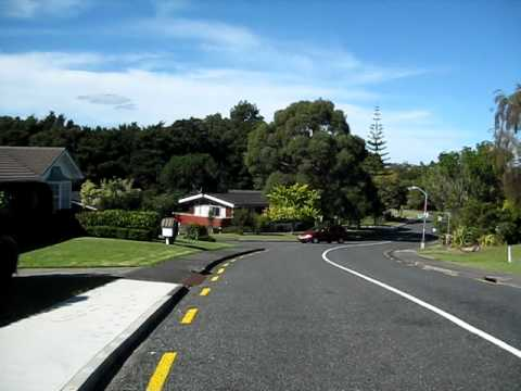 New Zealand, Manurewa where I stayed the 1st 3 weeks