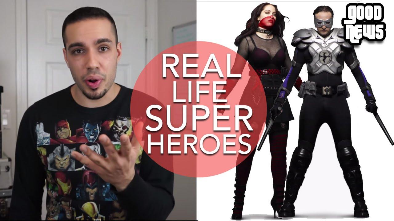 Real Life Superheroes! - YouTube