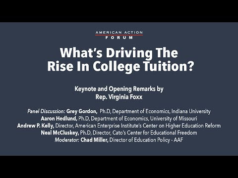 What's Driving The Rise In College Tuition?